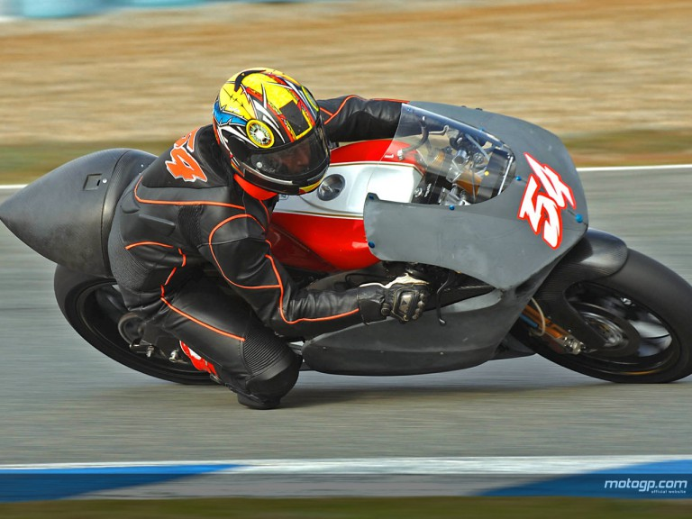 250cc testing underway at Jerez