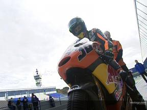 Mika KALLIO at Jerez winter test