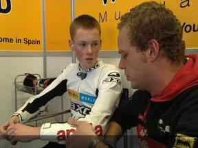 Bradley SMITH at Jerez winter test