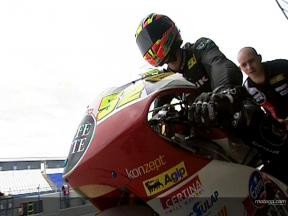 Lukas PESEK at Jerez winter test