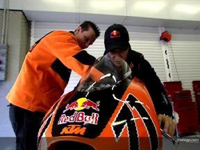 Koyama en el Test de Jerez