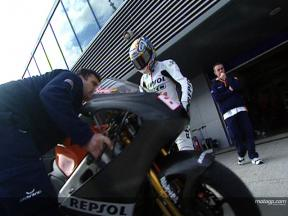 Julian SIMON at Jerez winter test