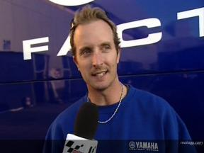 Colin EDWARDS on Jerez testing menu