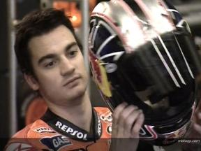 Pedrosa at Jerez Test