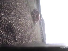 chute de Casey STONER Jerez Test