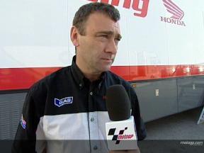 Chris HERRING on new RC212V