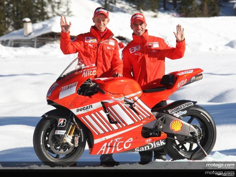 Ducati unveil Desmosedici GP8