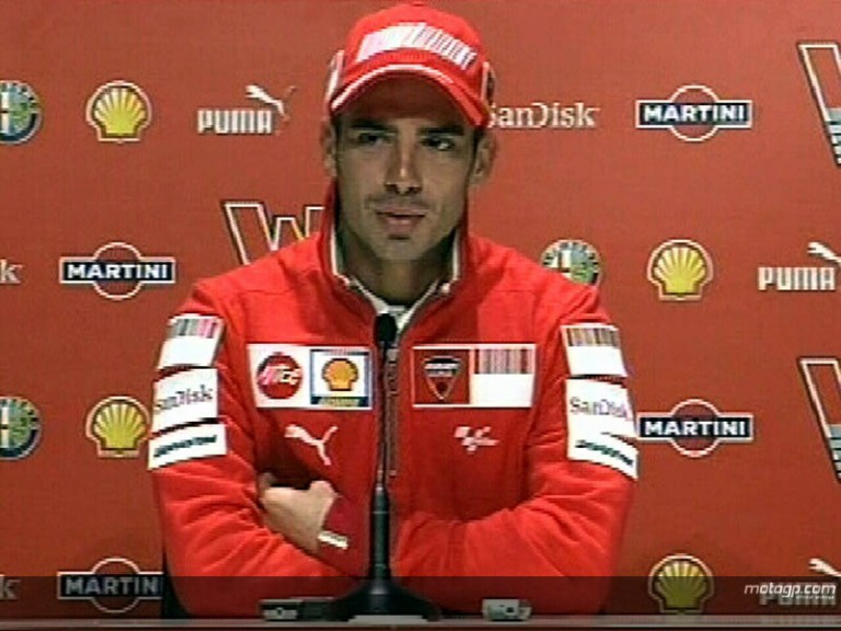 Melandri excited by Ducati move