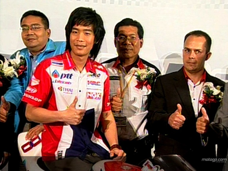 Thai Honda PTT SAG launch 2008 effort