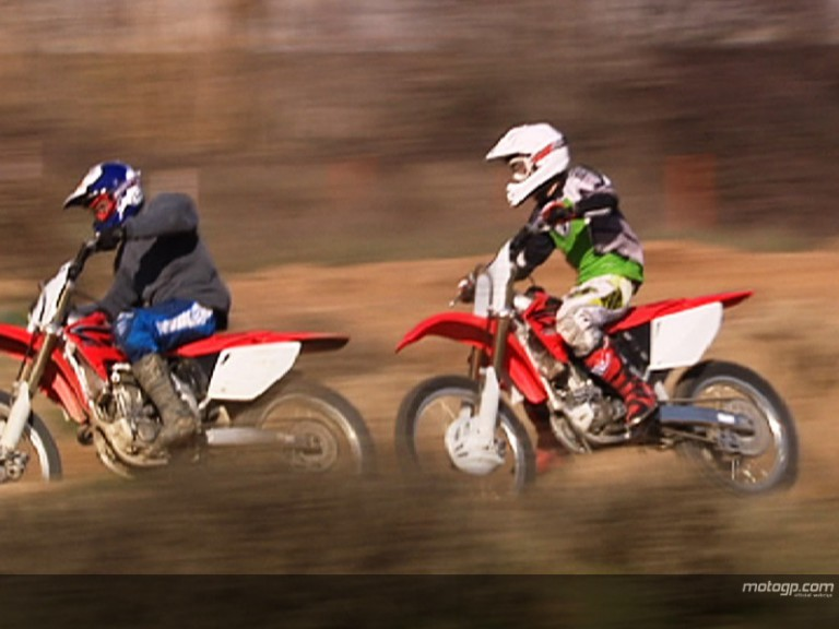 Offroad with Academy riders
