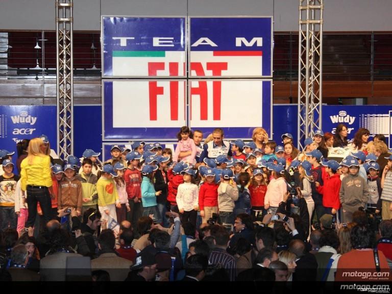Fiat Yamaha present 2008 project