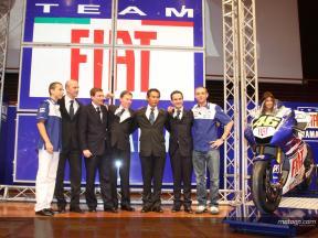 Présentation Fiat Yamaha à Turin