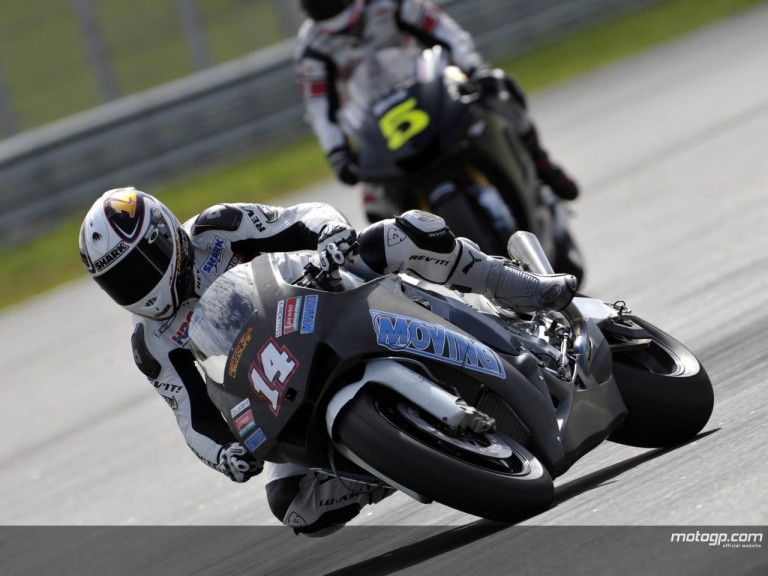 RANDY DE PUNIET SEPANG TEST