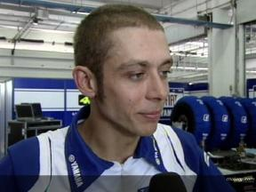 Rossi plays down crash effects