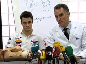 Dani Pedrosa press conference