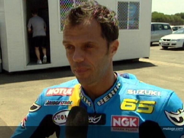 Capirossi: today was not easy