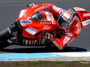 Second MotoGP test of 2008 - Phillip Island