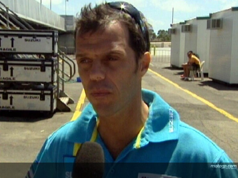 Capirossi on Phillip Island struggle