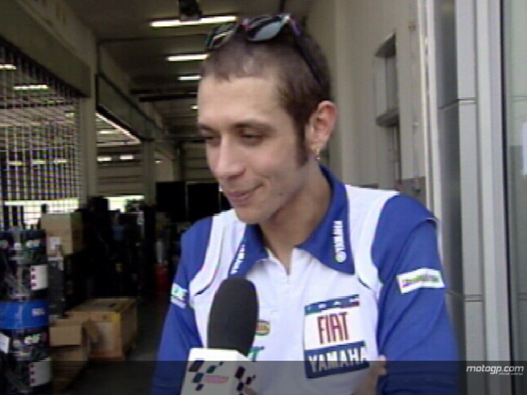 Rossi pleased with Sepang visit