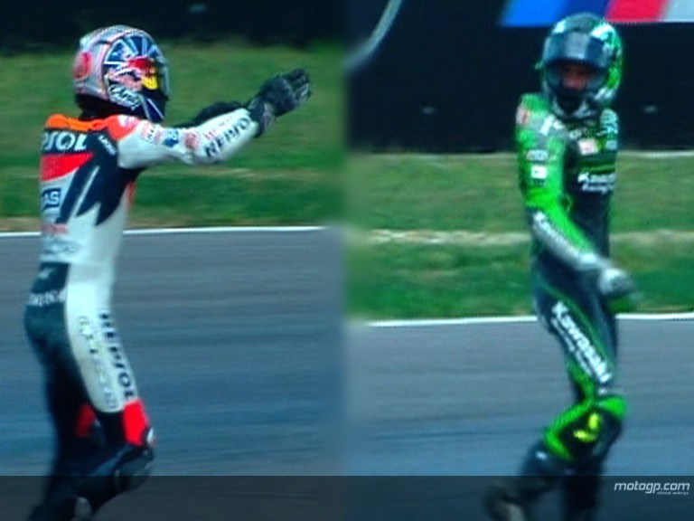 Pedrosa and De Puniet´s Misano clash