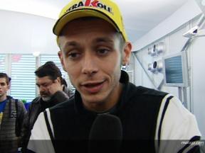 Rossi fija la vista en el  BMW