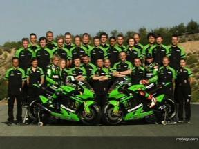 Kawasaki make 2008 presentation