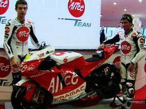 Alice unveil 2008 livery