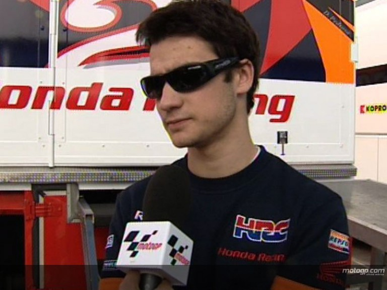 Pedrosa on injury actuality