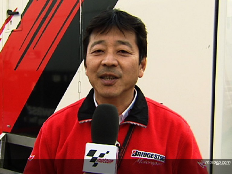 Yamada gives Bridgestone perspective