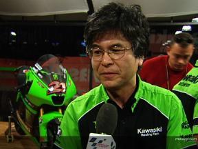 Kawasaki Tech Director Maeda
