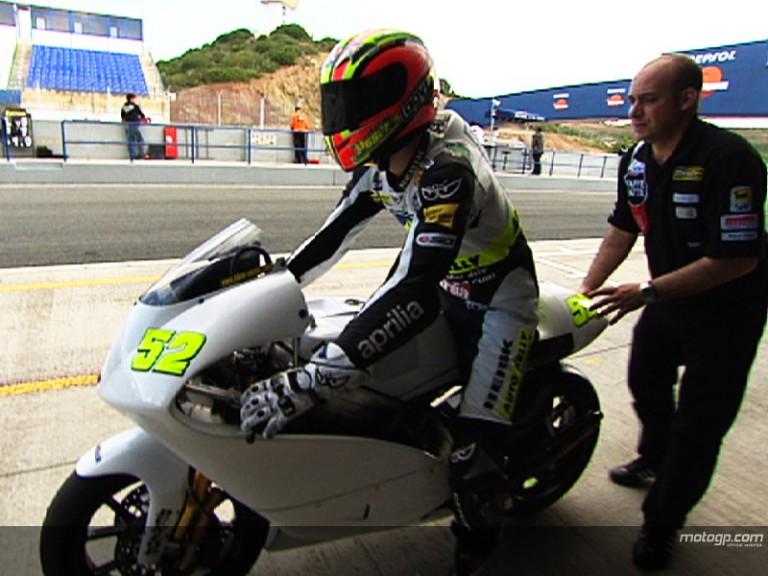 Pesek summarises Jerez testing