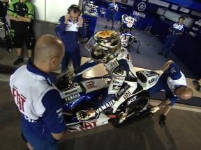 Riders enjoy second night of Qatar test