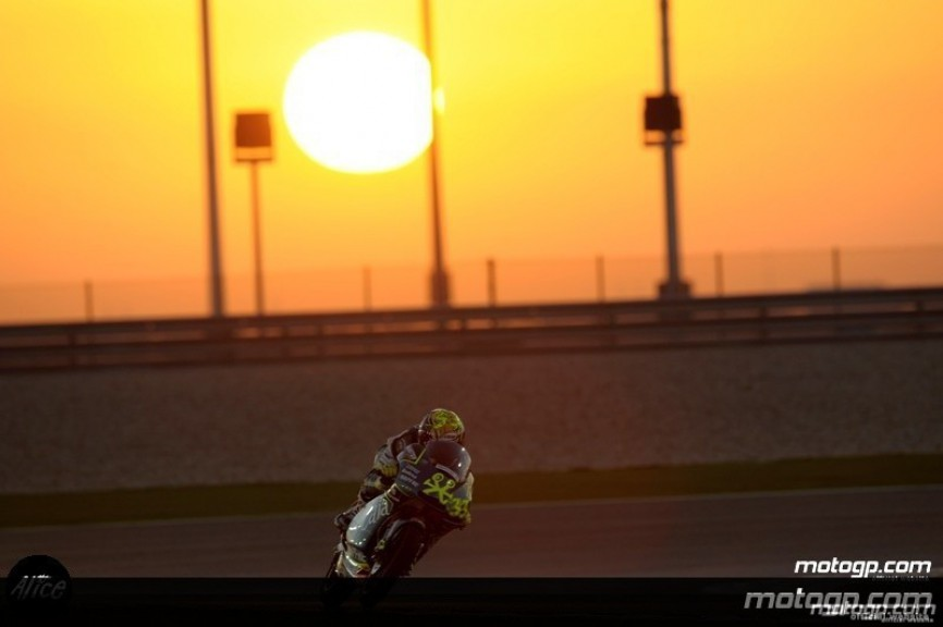 Sergion Gadea testing in Qatar