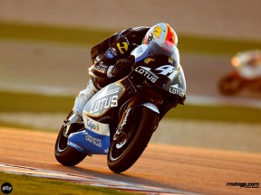 Aleix Espargaro in action