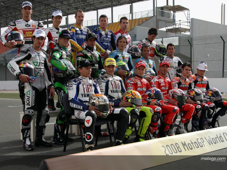 MotoGP Riders Group Photo