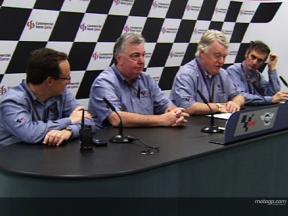 Paul Butler briefs motogp.com