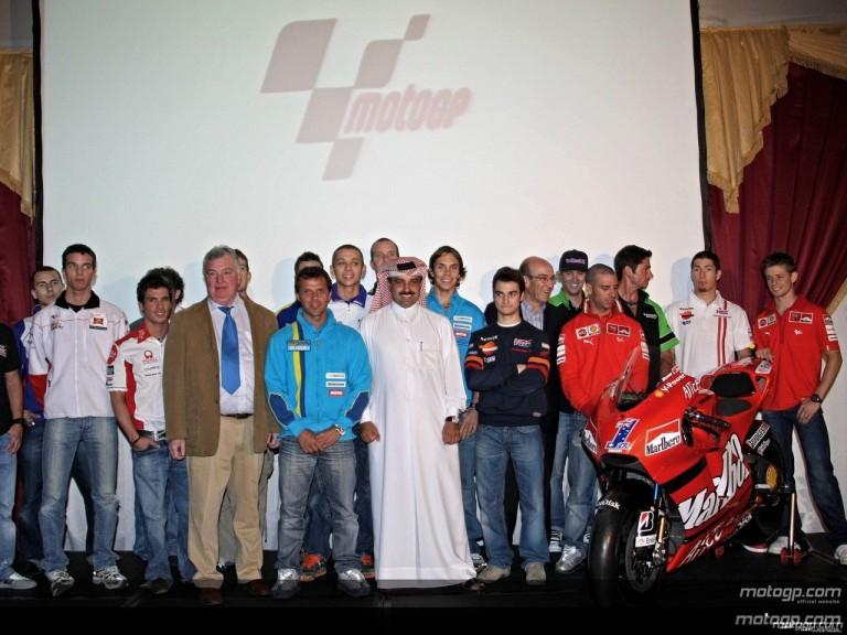 2008 MotoGP season launch party in Doha