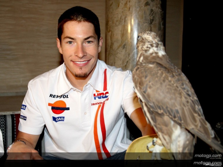 2008 MotoGP season launch party in Doha (Nicky Hayden)
