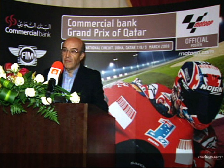 MotoGP opening ceremony in Doha
