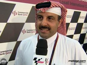 QMMF President at contract renewal