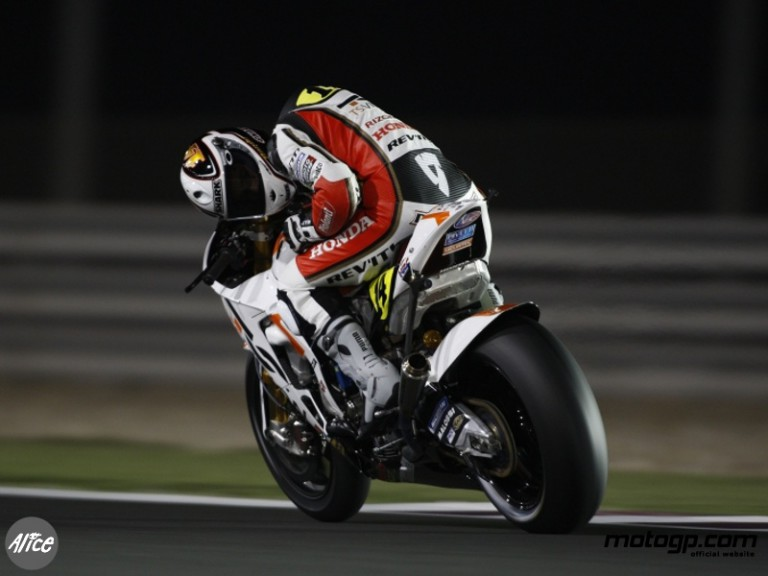 De Puniet in Free Practice 2 at Losail