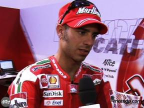 Marco Melandri after race