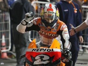 Pedrosa heading to parc fermé