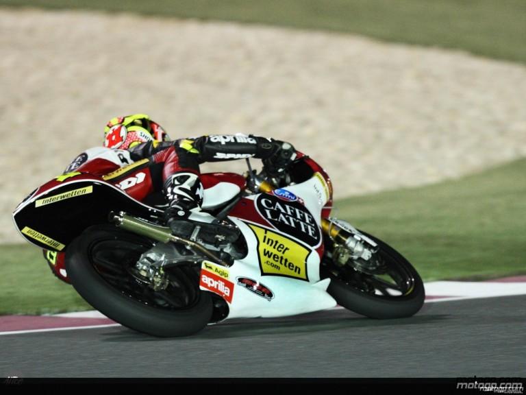 125 cc - Action Shots - Gran Premio de Qatar