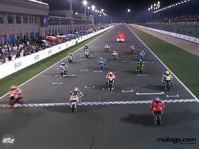 Pedrosa start at Qatar