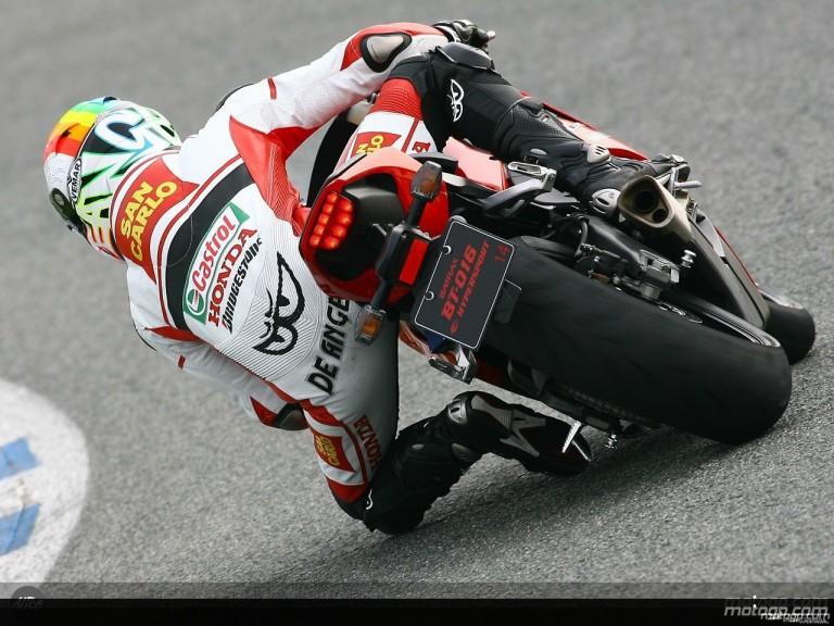 Bridgestone MotoGP riders attend Jerez launch