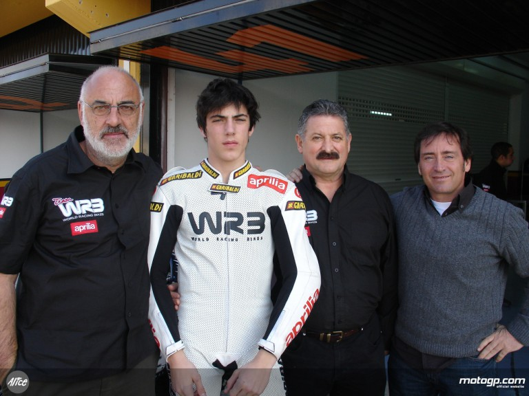 Jack & Jones WRB´s Manolo Burillo, Axel Pons, Josep Crivillé and Sito Pons