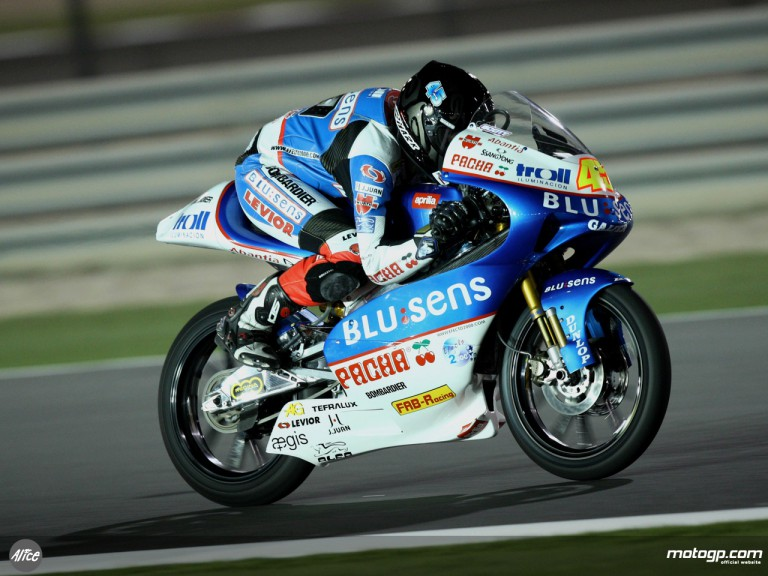 Scott Redding on his way to fifth place in Qatar