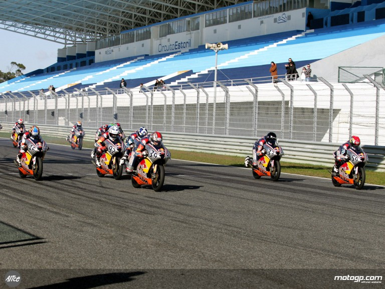 Red Bull MotoGP Rookies test at Estoril