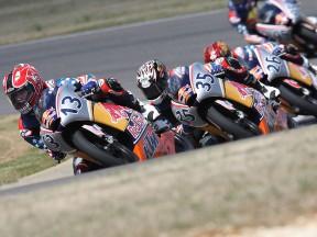 Red Bull AMA US Rookies testing at Barber